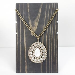 Erica Lyons Tear Drop Style Statement Necklace NWT